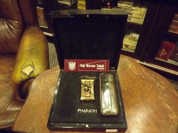 Van Werven Tabak Aansteker Dupont Pharaoh
