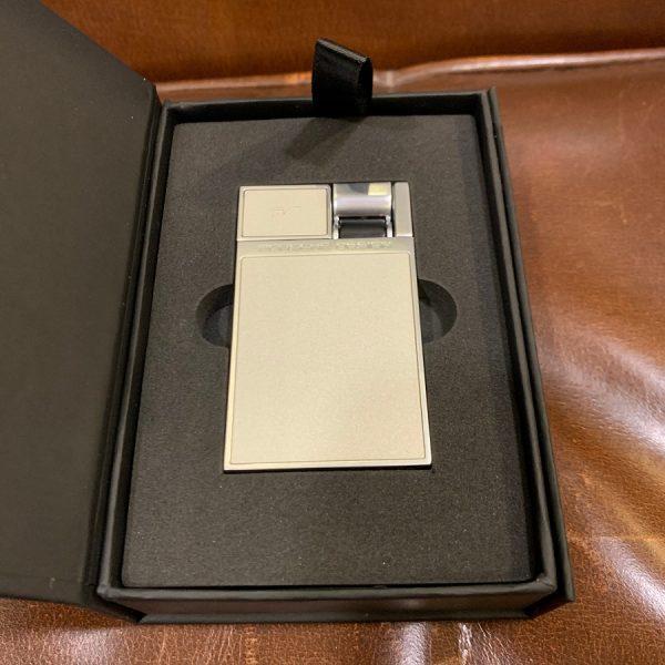 porsche design p pipe lighter silver pearl real